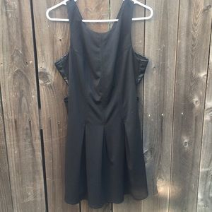 Just Fab Black dress with side cutouts size L